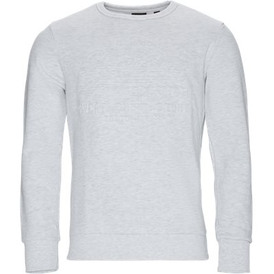 M2000046B Crewneck Sweatshirt Regular | M2000046B Crewneck Sweatshirt | Hvid